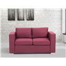2-sits soffa burgundy - soffa - tygsoffa - HELSINKI