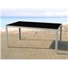Aluminiumbord - trädgårdsbord - bord - 160 cm - CATANIA