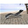 Solstol i aluminium - däckstol - trädgårdsmöbel - CATANIA