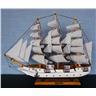 Segelbåt eller segelfartyg, 59x48x11 cm