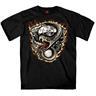 Rattler Snake & Motor T-shirt. M.