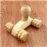 Massage Roller Trä 4 Hjul