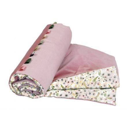 Sture Och Folke Sture & Folke - Barntäcke - Anemone - Eggshell White/Mountain Pink