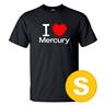 T-shirt Mercury Svart herr tshirt S