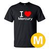 T-shirt Mercury Svart herr tshirt M