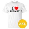 T-shirt Renault Vit herr tshirt 2XL