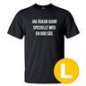 T-shirt Jag Älskar Djur Svart herr tshirt L