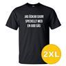 T-shirt Jag Älskar Djur Svart herr tshirt 2XL