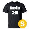 T-shirt Austin 3:16 Svart herr tshirt S
