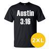 T-shirt Austin 3:16 Svart herr tshirt 2XL