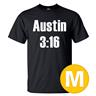 T-shirt Austin 3:16 Svart herr tshirt M