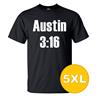 T-shirt Austin 3:16 Svart herr tshirt 5XL