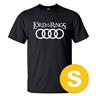 T-shirt Audi Lord Of The Rings Svart herr tshirt S