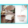 NYA! Mjölkkanna/Gräddkanna i glas formad som mjölkförpackning
