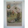 Tavla med Allers Familje-Journal, nr 29 - 1922, Golfspelare