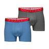 Frank Dandy 2-Pack Legend Boxer Melange Blue & Grey (L)