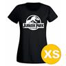 T-shirt Jurassic Park Svart Dam tshirt XS