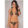 One Size - Spets Blomma Bikini Badkläder Swimwear Strand