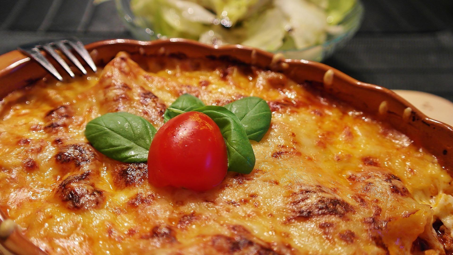 Lasagne Annorlunda med Ajvar relisch