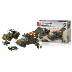 ;Sluban Byggblock Army Serie Ambulans