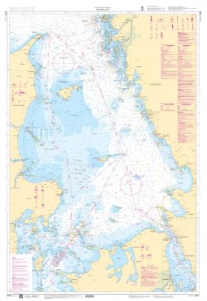 Sjökort - Kattegatt