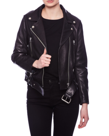Mock black jacket