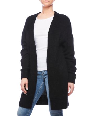 Raya sh mohair black knit 19NC53
