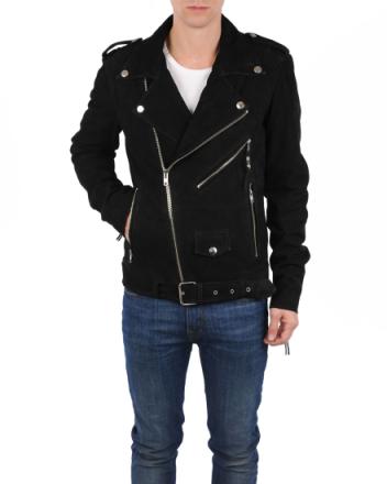 Leather jacket 5 Black MKL14401