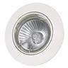 Downlight IP23 GU10 50W vippbar vit