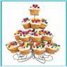 NEW!4-våningar Serveringsfat hållare för muffins, cupcakes..