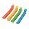 12cm Colorful Food Vacuum Seal Clips with Data Mark ? 4 Pack