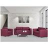 Soffgrupp burgundy - soffa - fåtölj - soffgrupp i tyg - HELSINKI