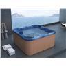 Utespa blå - utomhusspa - spabad - badtunna - bubbelbadkar - massagebadkar - SAN