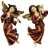 2 musikaliska änglar. för vägg, ängle violin fiol 22 cm present julklapp jul
