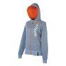KLIM Athena Zip Hood #M Grå/Orange