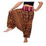 UNDERBAR byxa i bomull,Haremsbyxa,Harembyxa,Yoga,Aladdin byxa,Harem byxa,byxor