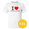T-shirt Aston Martin Vit herr tshirt 5XL