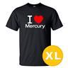 T-shirt Mercury Svart herr tshirt XL
