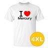 T-shirt Mercury Vit herr tshirt 4XL