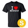 T-shirt Renault Svart herr tshirt S