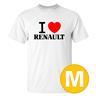 T-shirt Renault Vit herr tshirt M