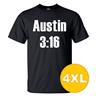 T-shirt Austin 3:16 Svart herr tshirt 4XL