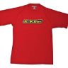 Klim T-shirt Team Tech Röd #M (REA 40% ord.349kr)