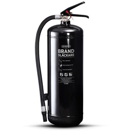 Brandsläckare Svart 55A 6Kg, Housegard