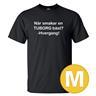T-shirt När Smakar En Tuborg Bäst Svart herr tshirt M