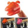 Hund grytvante isolerad hållare i silikon (Blandade Färger)