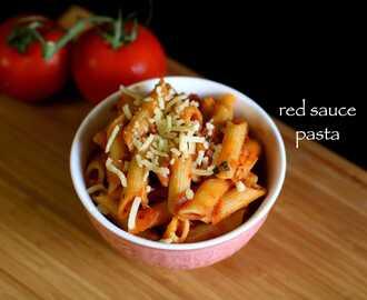 Red Sauce Pasta Hebbar S Kitchen