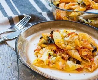 Recetas de macarrones con verduras al horno mytaste - Macarrones con verduras al horno ...