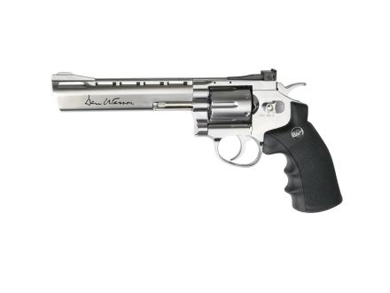 """ASG Dan Wesson 6"""" Silver CO2 6mm"""