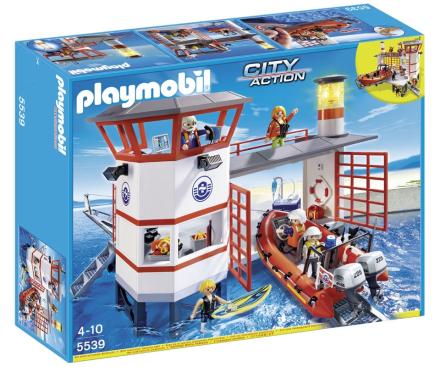 Kustbevakningsstation med fyr, Playmobil (5539)